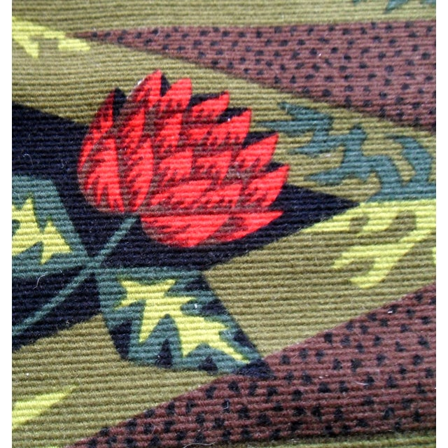 Alain Cornic for Aubusson Mid-Century Tapestry - Image 7 of 7