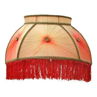 Victorian Silk Pleated Lamp Shade