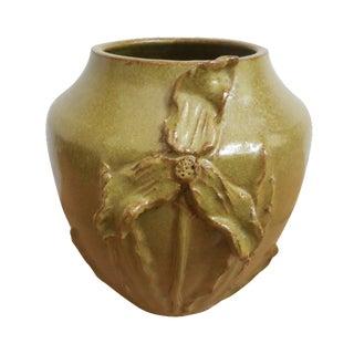 Marvin Bailey Folk Art Pottery Vase