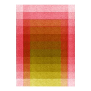 Jessica Poundstone Pink & Acid Yellow [Color Space Series] Print