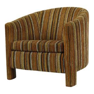 Milo Baughman for Founders Three Leg Barrel Chair