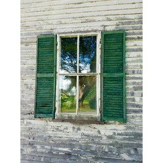 Green Shutters Photo by Josh Moulton