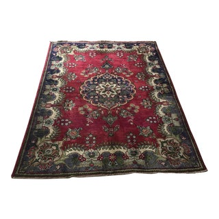 "Old Persian Lilihan Malayer Rug - 5'2"" x 6'8"""