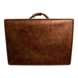 Vintage 1950s Hartmann Leather Suitcase