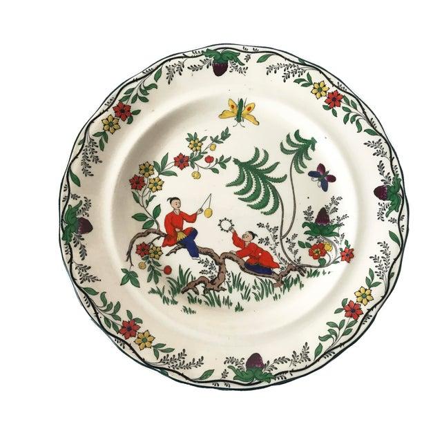 C. 1915 Adderley English Chinoiserie Plates- Set of 8 - Image 2 of 6
