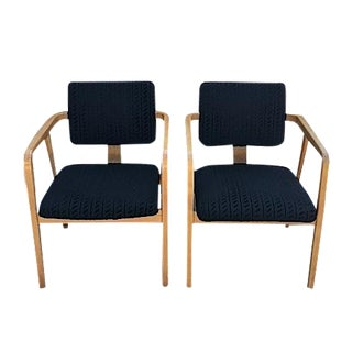 George Nelson for Herman Miller Armchairs - Pair