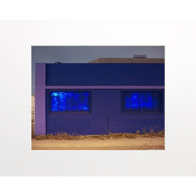 """Painted Windows"" Night Photograph by John Vias - Image 2 of 2"