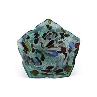Vintage Murano Iridescent Art Glass Bowl