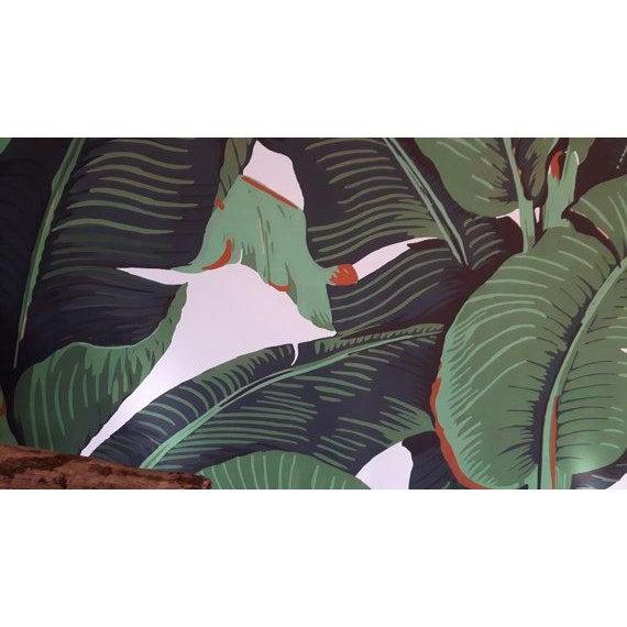 Beverly Hills Hotel Banana Leaf Wallpaper - Image 3 of 5