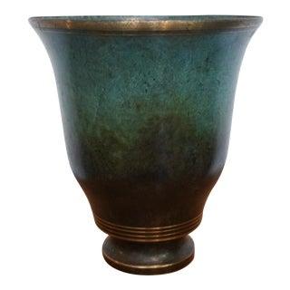 Carl Sorenson Bronze Urn