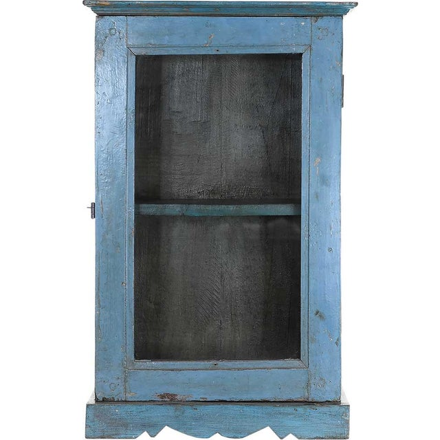 Venetian Showcase Wall Cabinet - Image 1 of 4