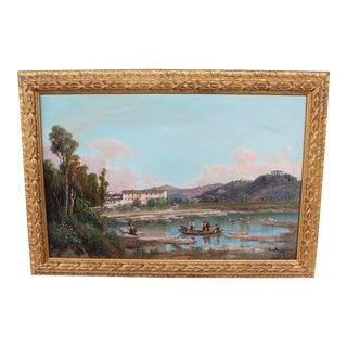Italian Emilio Donnini Landscape