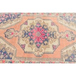 Image of Muted Handwoven Nomadic Vintage Anatolian Oriental Rug - 4′4″ × 7′3″