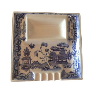 Blue Willow Ashtray Catchall