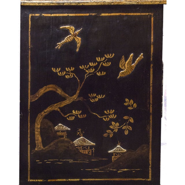Tete De Negre Chinoiserie Bedside Chest (Pair) - Image 4 of 11
