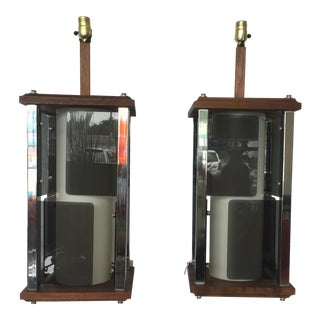 1970s Lamps - A Pair