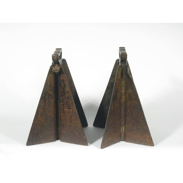 Vintage Hi-Low Steel Horses - Pair - Image 4 of 4