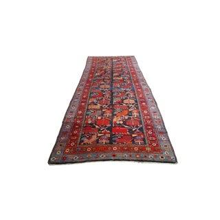 Traditional Caucasian Karabakh Rug - 4′7″ × 13′7″