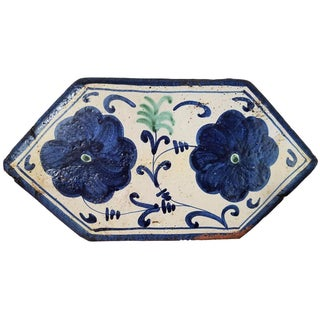 Blue & White Terracotta Tile