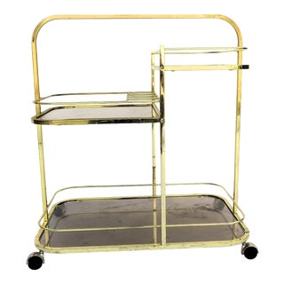 Milo Baughman DIA Bar Cart