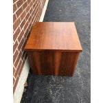 Image of Vintage Lane Walnut Nightstand or Side Table