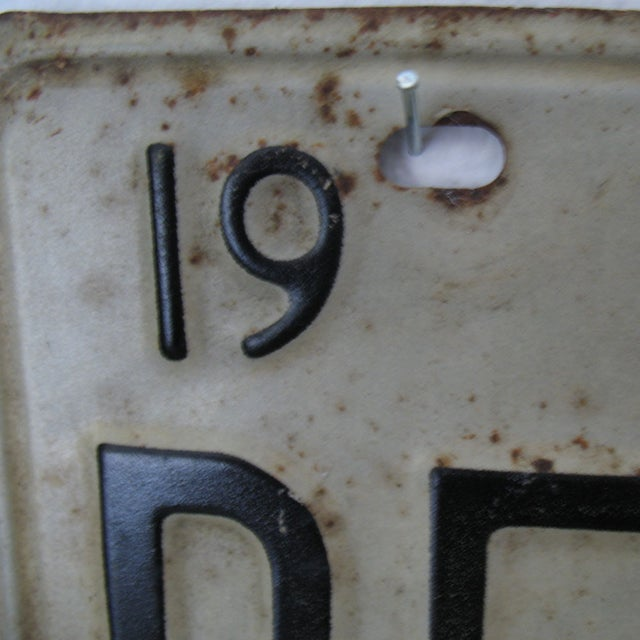 Vintage Texas License Plates 1973 - A Pair - Image 5 of 5
