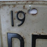 Image of Vintage Texas License Plates 1973 - A Pair