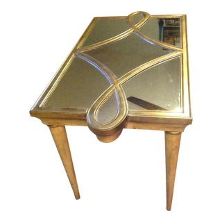 Modern Designer Hollywood Glamour Mirror Table
