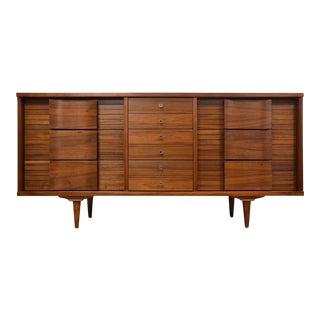 Johnson Carper Mid-Century 9-Drawer Dresser