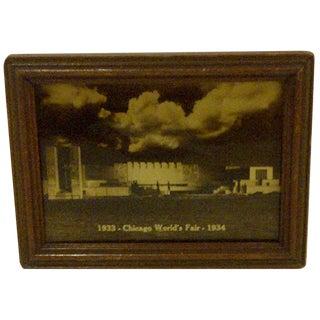 Vintage 1933 Chicago World's Fair Photograph