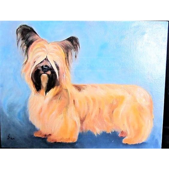 Yorkshire / Skye Terrier Acrylic Painting - Image 5 of 10