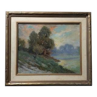 Angel Espoy Impressionist California Landscape Panting
