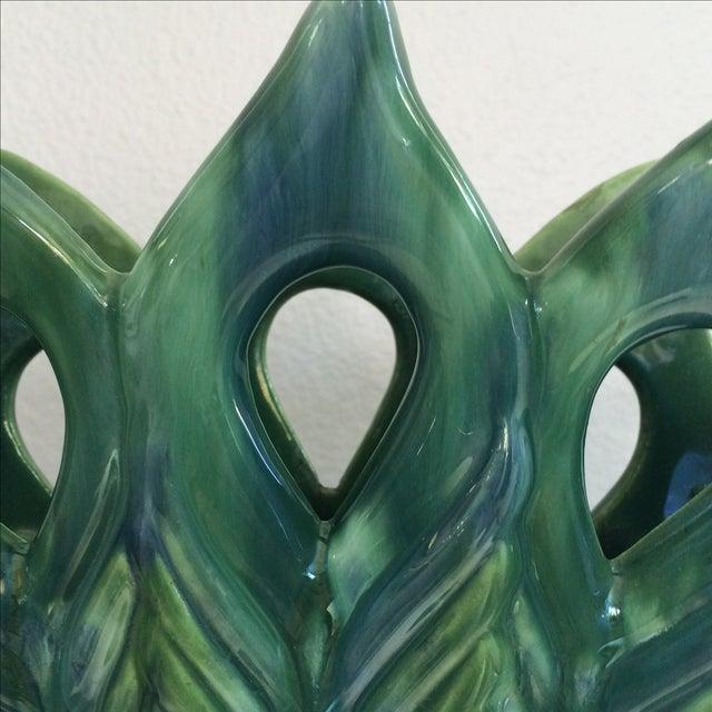 Royal Haeger Peacock Vase - Image 7 of 11