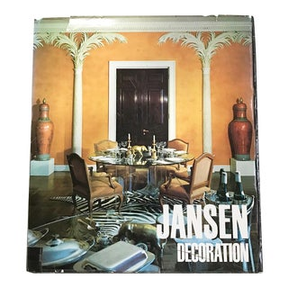 Jansen Decoration First Edition Book, 1971