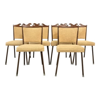 Retro Dining Chairs - Set of 6