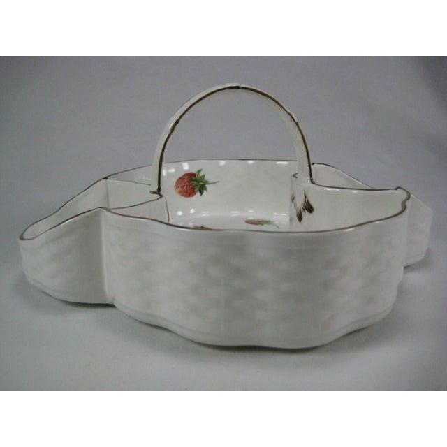 Coalport Bone China Strawberry Basket - Image 5 of 9
