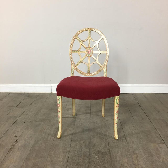 Hand Painted Side Chair - Image 3 of 10