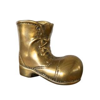 Brass Boot Pen Holder