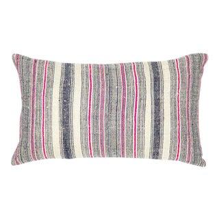 Hmong Pink Hemp Pillow