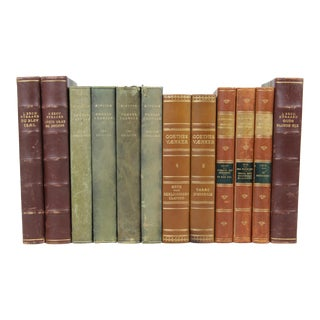 Leather-Bound Books S/12