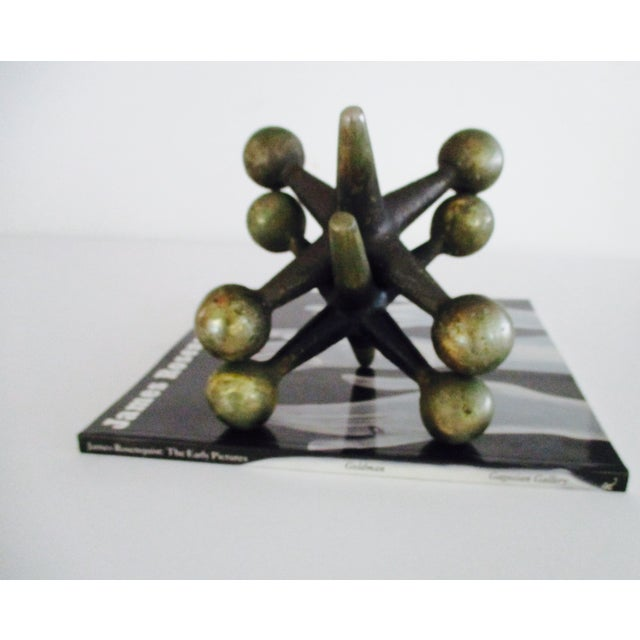 Cast Iron Jacks Bookends Bill Curry Mid Century - Image 6 of 11