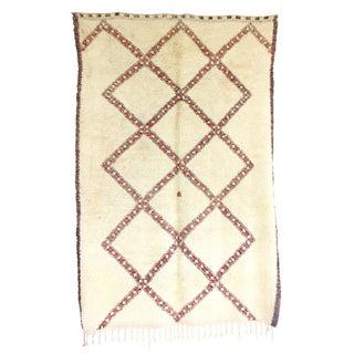 Vintage Beni Ourain Rug - 5′9″ × 8′9″