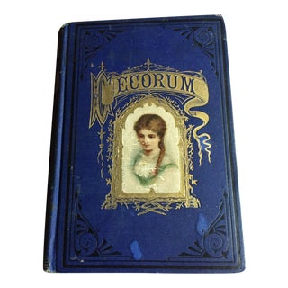 Late 1800s Decorum Treatise On Etiquette And Dress Book