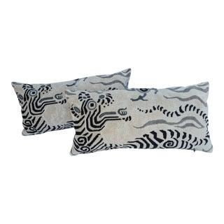 Clarence House Dragon Pillows