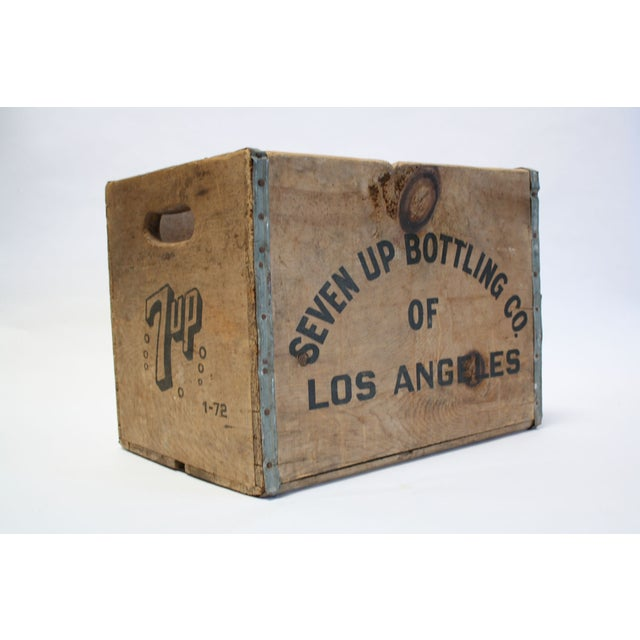 Vintage Wooden 7-Up Crate - Image 2 of 6