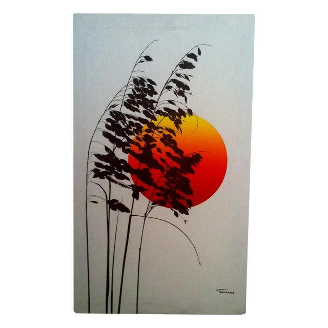 1970s Landscape Silkscreen - Image 1 of 6