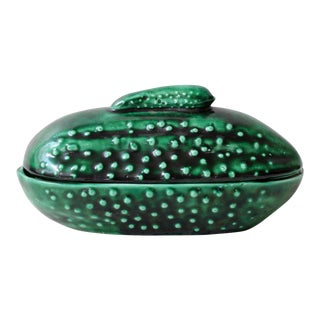 Midcentury Covered Pickle Dish