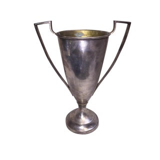 Silver Plated Brass Trophy Cup