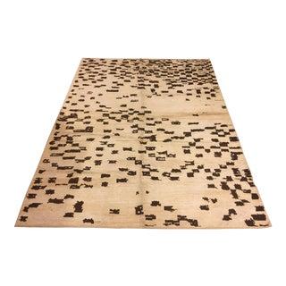 "Turkish Tribal Floor Decorative Hemp Rug - 87"" x 117"""
