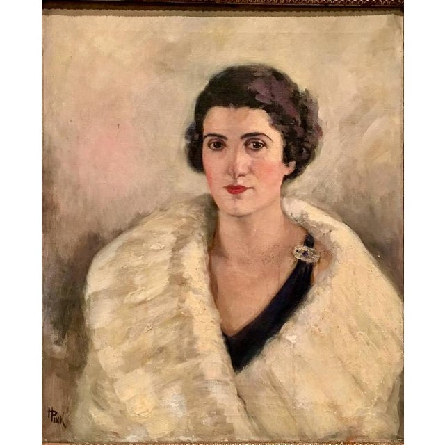 Early 20th Century Original Oil Painting Female Portrait -Framed & Signed By, H. Pink - Image 2 of 10